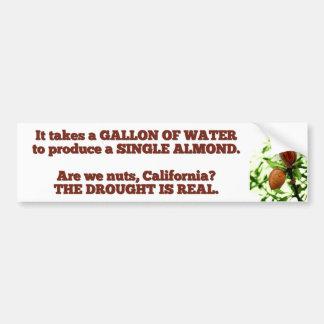 Gallon of Water California Drought Bumper Sticker