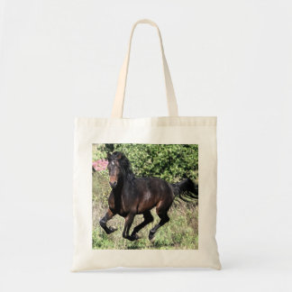 Galloping Chestnut Horse Tote Bag