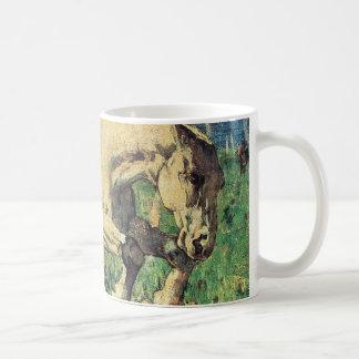 Galloping Horse by Giovanni Segantini, Vintage Art Coffee Mug