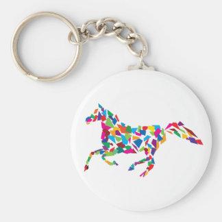 Galloping Horse Key Ring