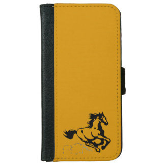 Galloping Horse Wild and Free iPhone 6 Wallet Case