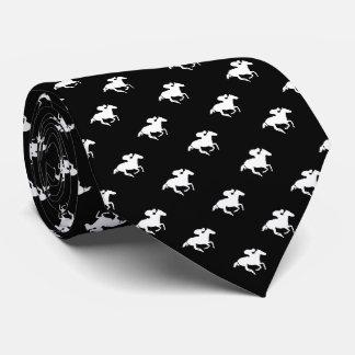 Galloping Horseman Pattern | Derby Tie