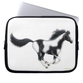 Galloping Paint Horse Electronics Bag Computer Sleeves