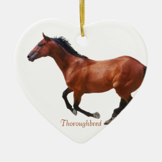 Galloping Thoroughbred Ornament