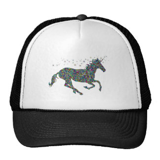 Galloping Unicorn Stained Glass Cap