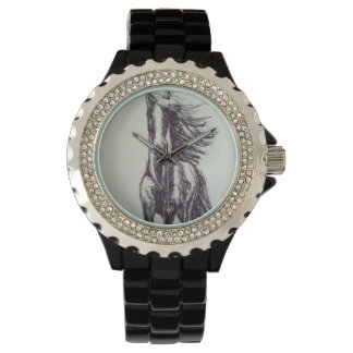 Galluping Horse drawing Watch