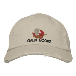 Galn Books Embroidered Hat