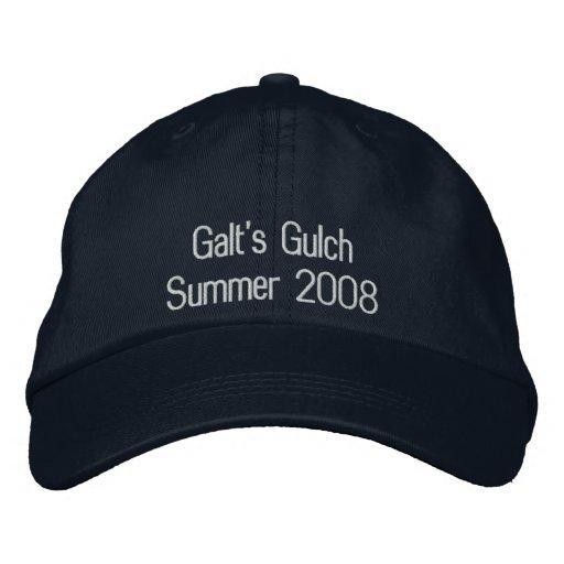 Galt's Gulch Embroidered Baseball Caps