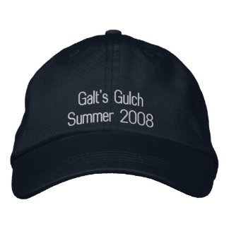 Galt's Gulch Embroidered Hat