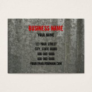 Galvanized Corrugated Sheet Metal Business Card
