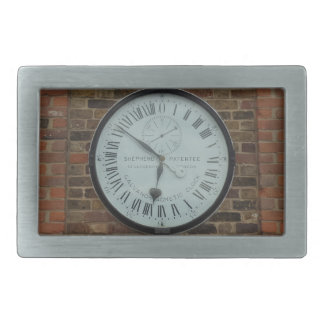 Galvanomagnetic Clock Greenwich London Belt Buckle