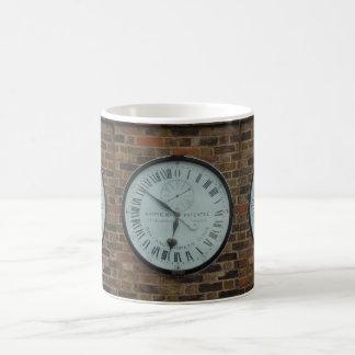 Galvanomagnetic Clock White Coffee Mug