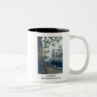 GALVESTON - 1876 William Weber House Two-Tone Coffee Mug