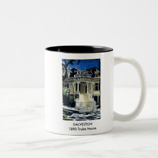 GALVESTON - 1890 Trube House Mugs