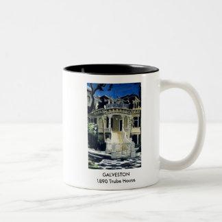 GALVESTON - 1890 Trube House Two-Tone Mug