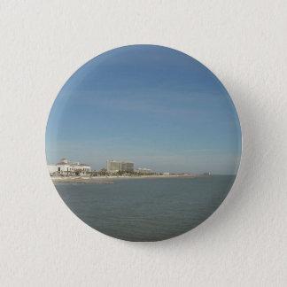 Galveston Island, Texas 6 Cm Round Badge