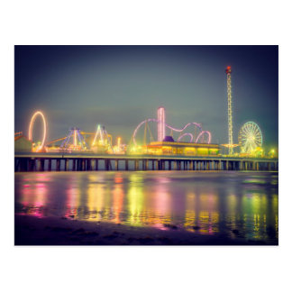 Galveston Pleasure Pier Postcard