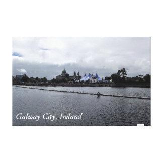 Galway City, Ireland Canvas Print