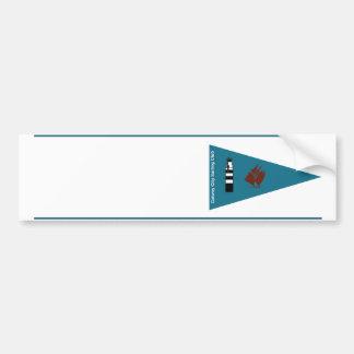 Galway City Sailing Club Boat Name Sticker Bumper Sticker