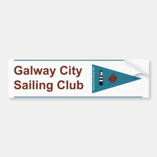 Galway City Sailing Club Bumper & Boat Sticker