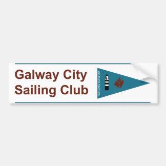 Galway City Sailing Club Bumper & Boat Sticker Bumper Sticker