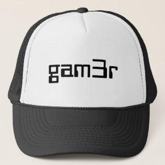 gam3r hat / trucker cap