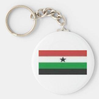 Gamabella Flag Basic Round Button Key Ring