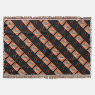 Gamaun Happy Halloween Throw Blanket