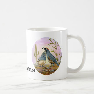 Gambel Quails Friend Forever Coffee Mug
