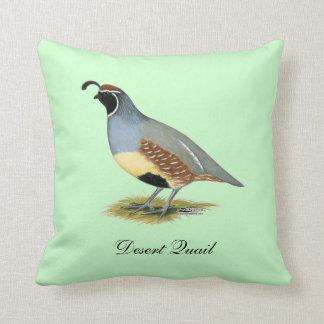 Gambel's Desert Quail Cushion