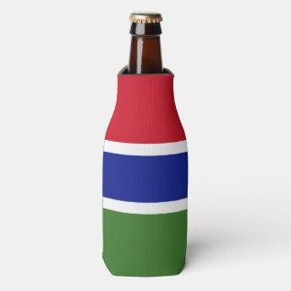 Gambia Flag Bottle Cooler
