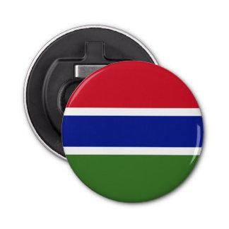 Gambia Flag Bottle Opener