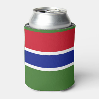 Gambia Flag Can Cooler