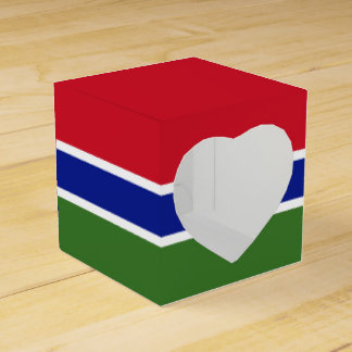 Gambia Flag Favour Box