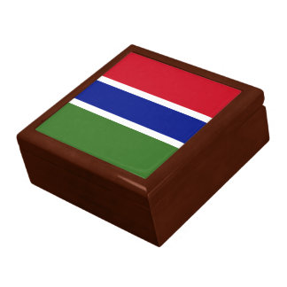 Gambia Flag Gift Box