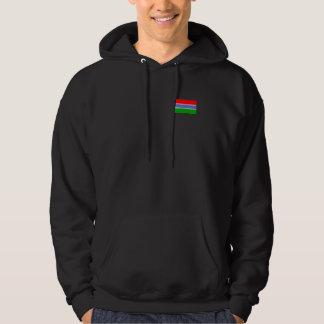 Gambia Flag Hoodie