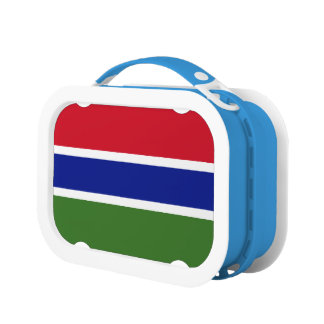 Gambia Flag Lunch Box