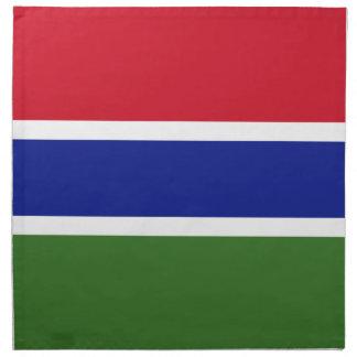 Gambia Flag Napkin
