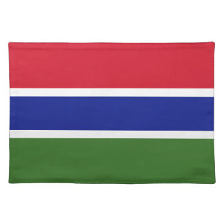Gambia Flag Placemat