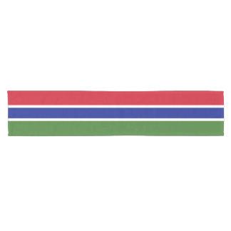 Gambia Flag Short Table Runner