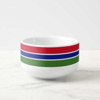 Gambia Flag Soup Mug
