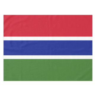 Gambia Flag Tablecloth