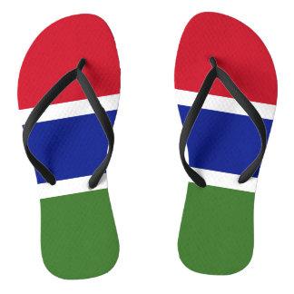 Gambia Flag Thongs