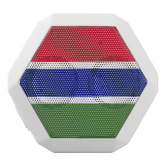 Gambia Flag White Bluetooth Speaker