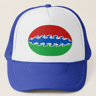 Gambia Gnarly Flag Hat