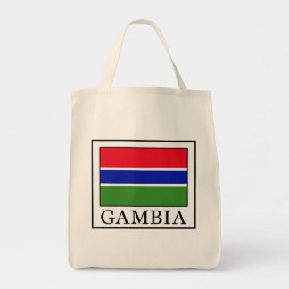 Gambia Grocery Tote Bag