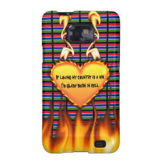 Gambia If loving my country is a sin, Samsung Galaxy S Cover