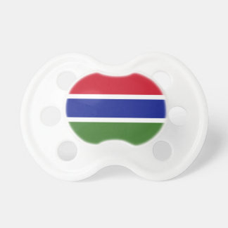 Gambia National World Flag Baby Pacifier