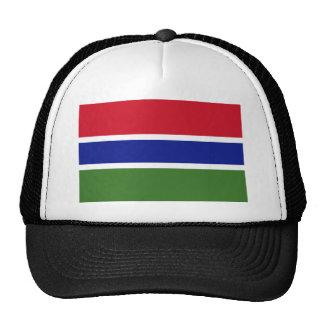 Gambia National World Flag Cap