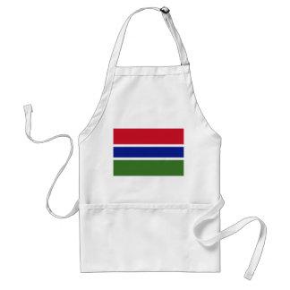 Gambia National World Flag Standard Apron